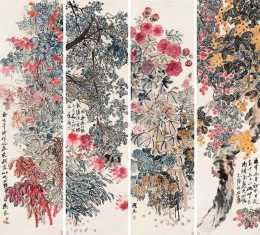 55歲齊白石看上18歲女傭,用一幅畫喜結良緣,如今市價9千萬