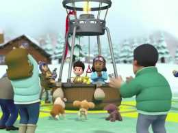 汪汪隊:為了獎勵萊德和汪汪隊,古薇市長請他們吃漢堡,太爽了