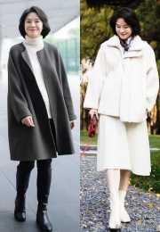 """今秋的外套流行""""穿短不穿長"""",舒適顯個高,五六十歲女人穿真美"""