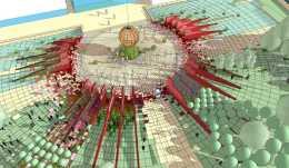 """在聯合國生物多樣性大會,英國建築師打造""""未來城市花園"""""""