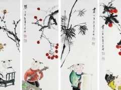 中國排名第一的畫家:1幅畫賣出1.4億元,打算80歲之前超越畢加索