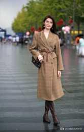 矮個子不管穿什麼外套,都要避開這2種長度,否則顯矮還顯胖